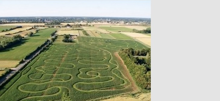The two giant labyrinths